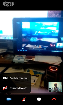 Skype to Skype Video Camera Options