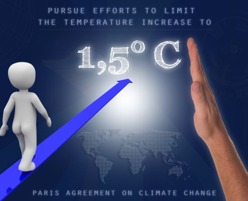 Draft of Paris climate change deal agrees to 'pursue efforts to limit the temperature increase to 1.5C.