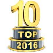 Top 10 of the year 2016 (done in 3d rendering)