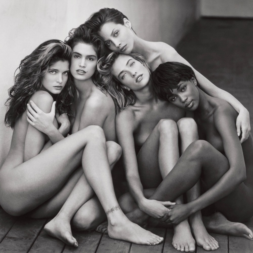 Supermodels The Iconic Herb Ritts Photograph 1989