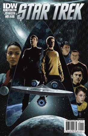 Star Trek Ongoing comic issue 1