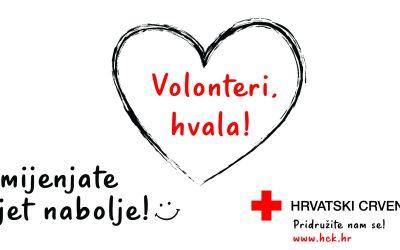 """Svjetski dan Crvenog križa slavimo pod sloganom """"Hvala Volonteri!"""""""