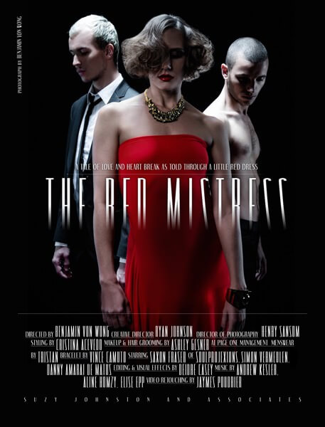 The Red Mistress POSTER 1