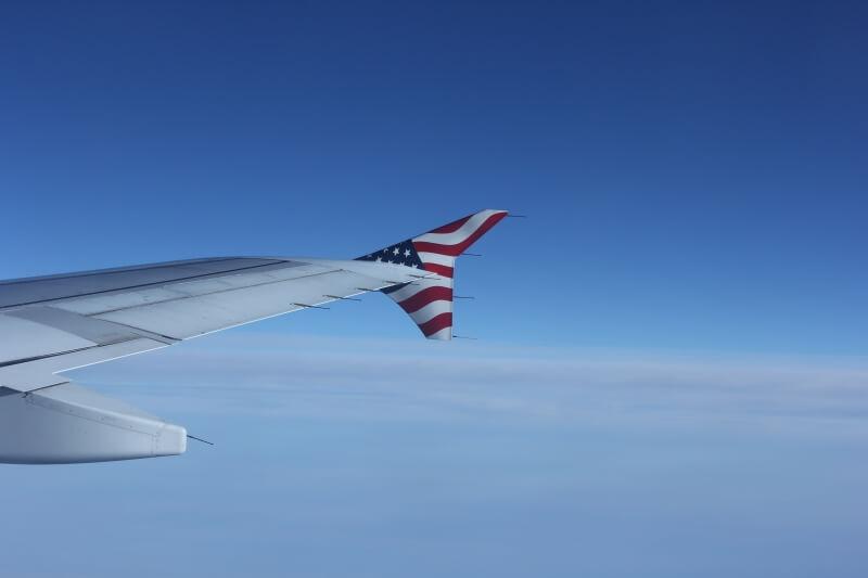 Крыло самолета Virgin