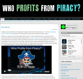 Piracy profits