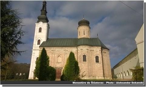 Monastère de sisatovac