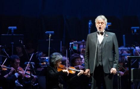 Andrea Bocelli And Fantasia In Concert - Newark, NJ