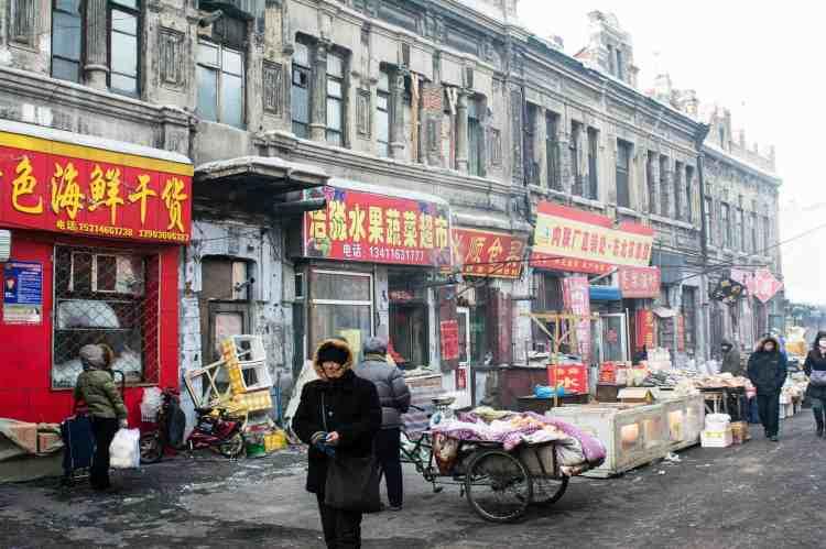 songhua vieux quartier Harbin