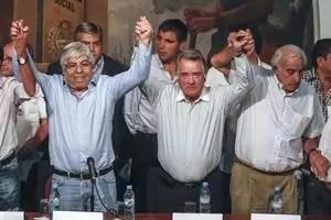 Hugo Moyano no descarta la reunificación de la CGT pero pone reparos. Foto: LA NACION / Aníbal Greco