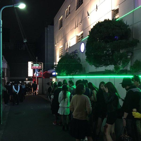 渋谷ハロウィンラブホ