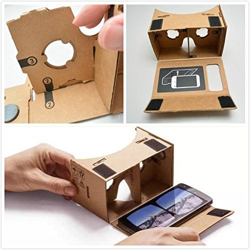 Epple Google Cardboard 3D VR DIY Glasses Compatibility