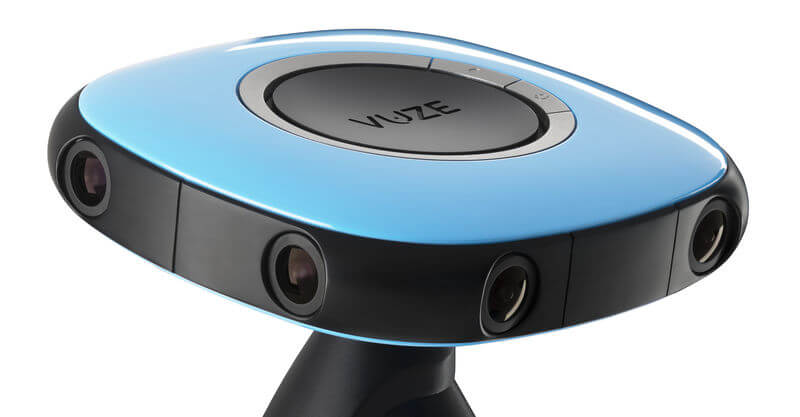 VUZE stereoscopic 3D 360 degree camera for business presentations