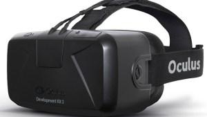 VR Brille Oculus Rift
