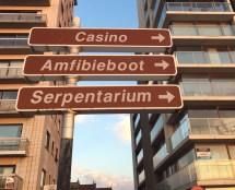 Blankenberge casino Amfibieboot Serpentarium