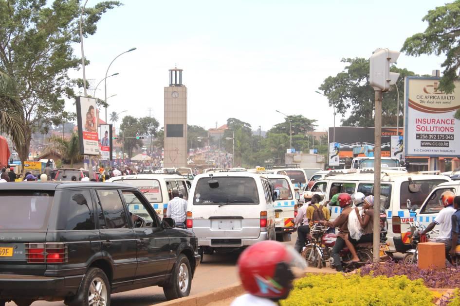 Kampala verkeer