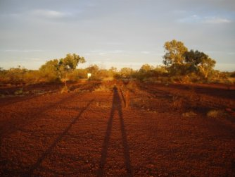 rode aarde australie