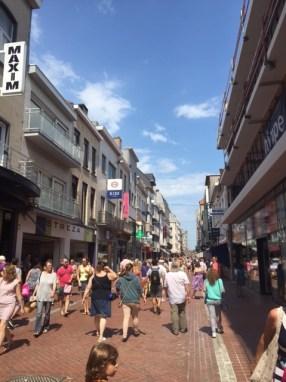 winkelstraat Blankenberge