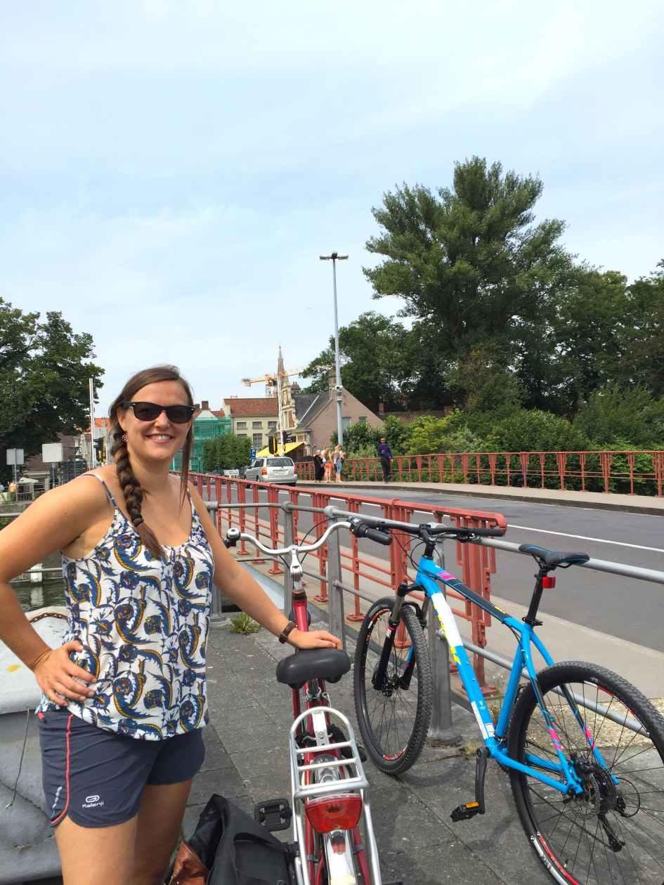 Van Gent naar Brugge fietsen
