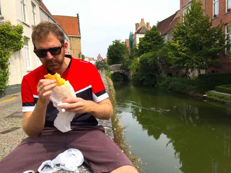 picnicken in Brugge