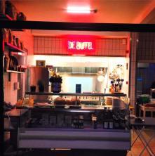 De Buffel winkel toog