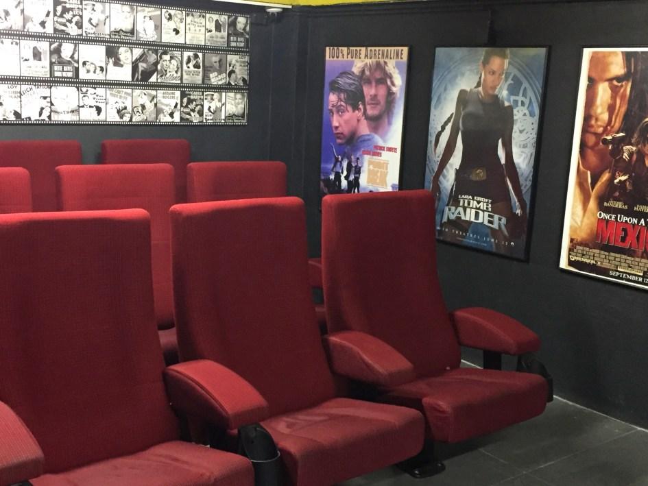 Cube Hostel Leuven cinema