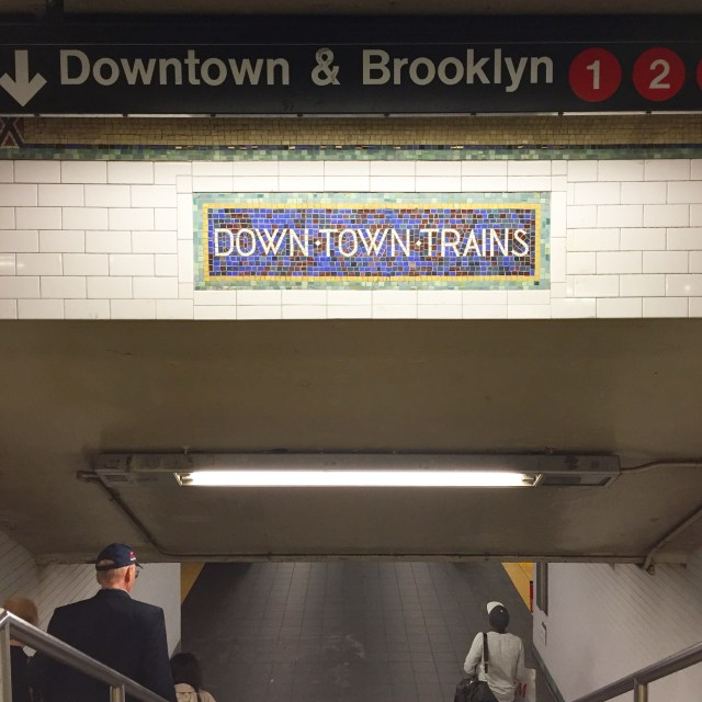 downtown trains new york