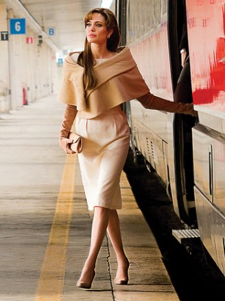 """Angelina Jolie as """"Elise"""" in Columbia Pictures' THE TOURIST."""