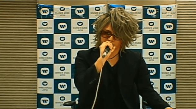 <Kamijo Official Youtube Channel 直播截圖>