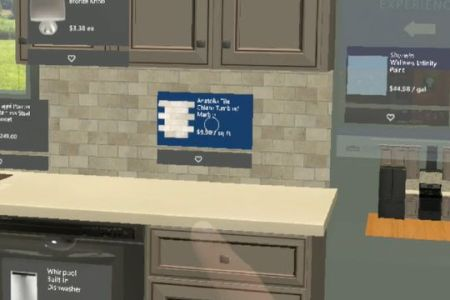 lowes holographic kitchen