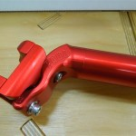 PAUL / TALL AND HANDSOME SEAT POST RED