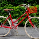 tokyobike Lite / JEFFER RED + Basket