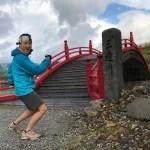三途の川の向こう側で、千葉から恐山まで歩いて来た男と遭遇。