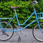 E.B.S LEAF / light blue + Front Basket Rear Carrier Order