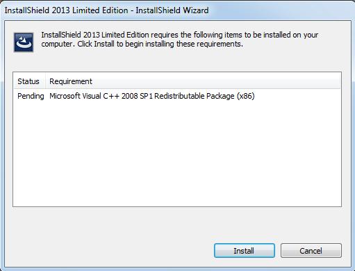Install InstallShield - vscode.ru