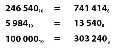 Восьмеричная система счисления