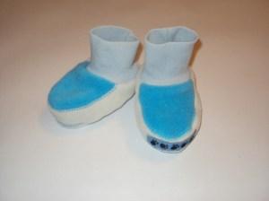 Как сшить носочки для новорожденного 951