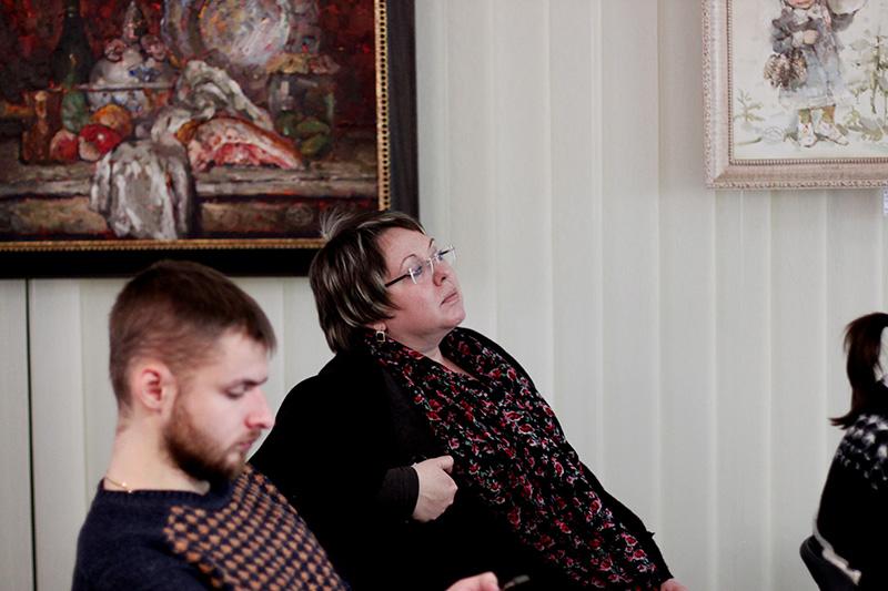 Однією зі студенток стала Світлана Скляр, колишній головний редактор КСД, нині редактор Vivat