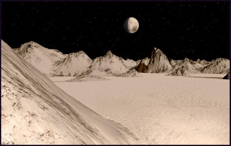 Ілюстрація: K.B. Kofoed / NASA Solar System