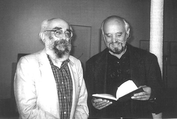 Богдан Рубчак і Богдан Бойчук. Джерело: encyclopediaofukraine.com