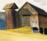 In This State: Edward Hopper's Vermont watercolors