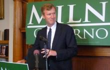 Milne won't seek recount, but isn't conceding the race