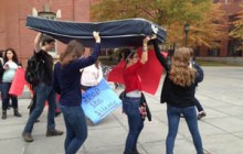UVM students raise awareness of sexual assault on campus