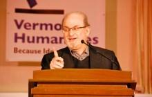 Salman Rushdie speaks about storytelling, censorship