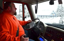In This State: For state snowplow drivers, life in the cab is a rough adventure