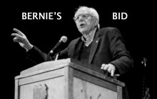 Bernie's Bid: Campaign kickoff and the view from afar