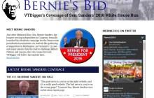 Bernie's Bid: VTDigger launches campaign microsite