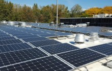 BED rooftop solar array