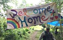 Rainbow Family begins arriving at Green Mountain National Forest