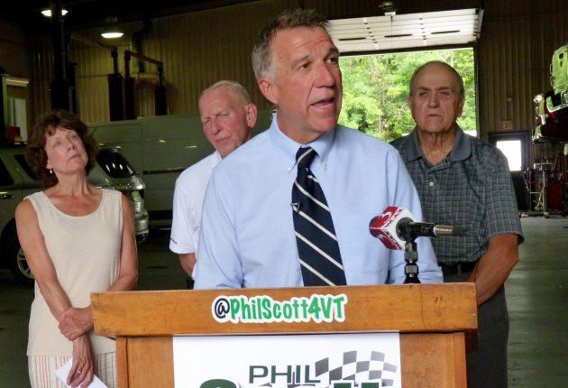 Scott touts transportation plan, auto dealers' endorsement