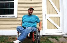 Newport man journeys across Vermont for social justice